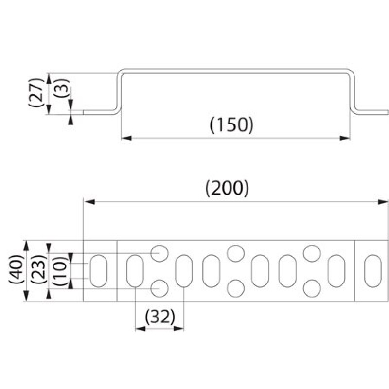 Прут заземлення PSS396.1