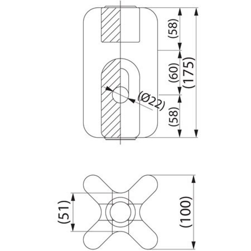 Ізолятор відтяжки композитний SDI4.5