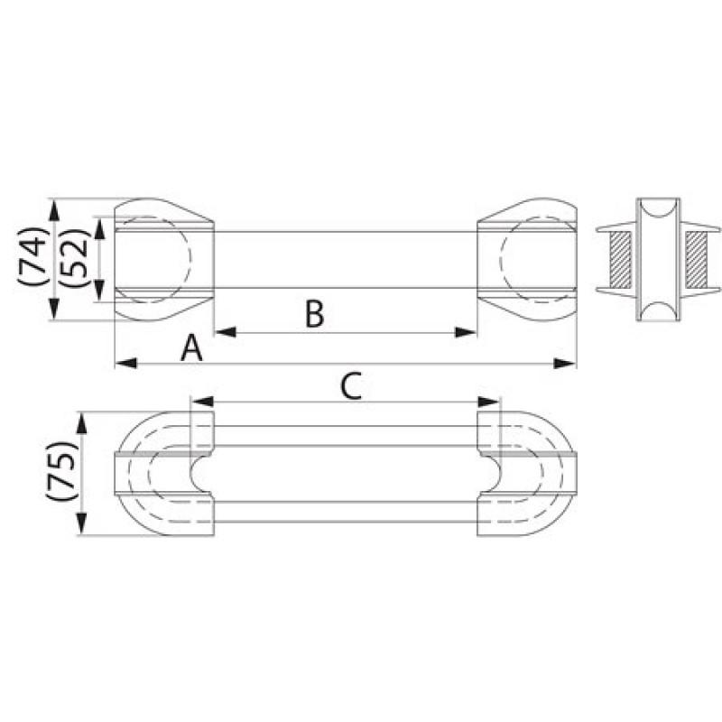 Ізолятор відтяжки композитний  SDI70.24