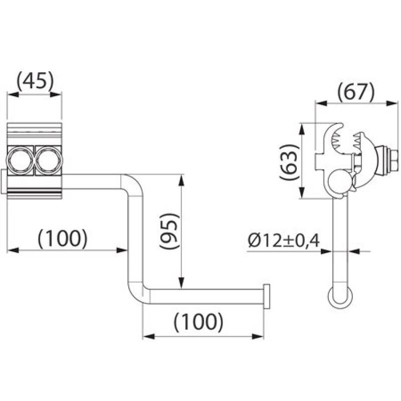 Пристрій тимчасового заземлення SEW20.3