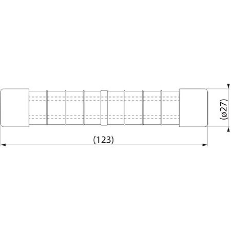 Затискач з'єднувальний пресований SJ9.120