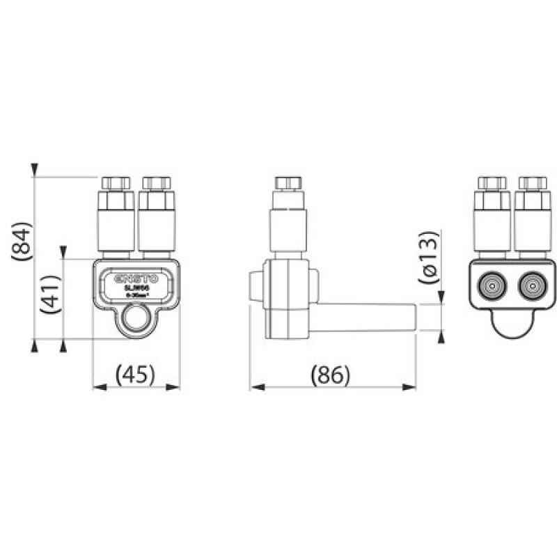 Розгалужувальний роз'єм SLIW66