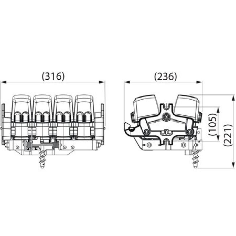 Вимикач щогловий SZ160.4
