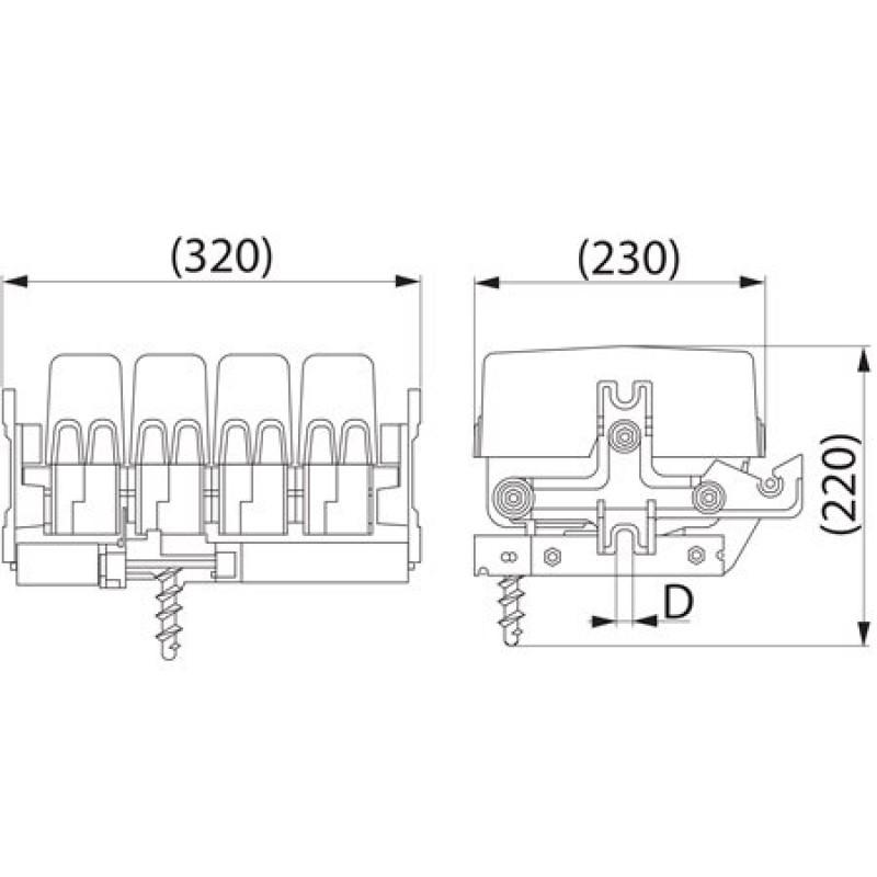 Вимикач щогловий SZ56.1