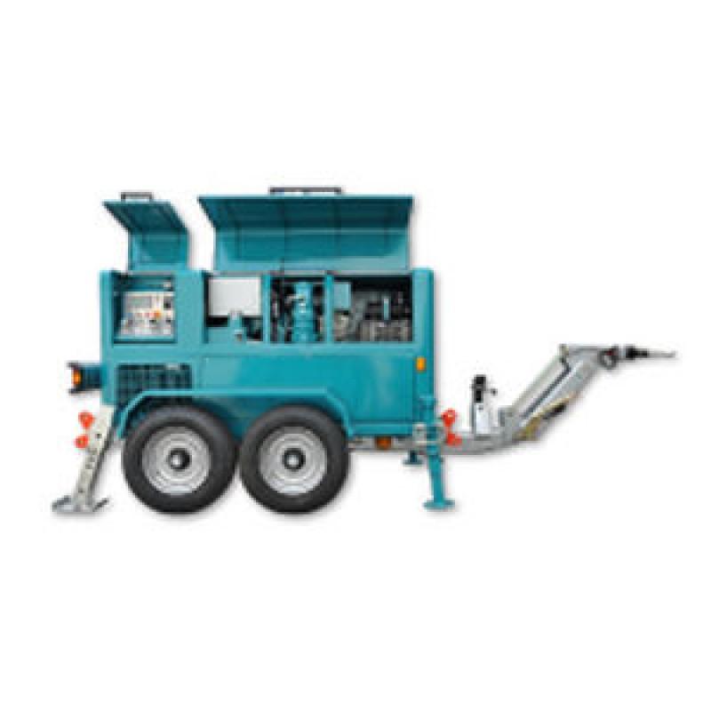 Гідравлічна лебідка з тепловим двигуном для санації шлангів VM 15000 RIS