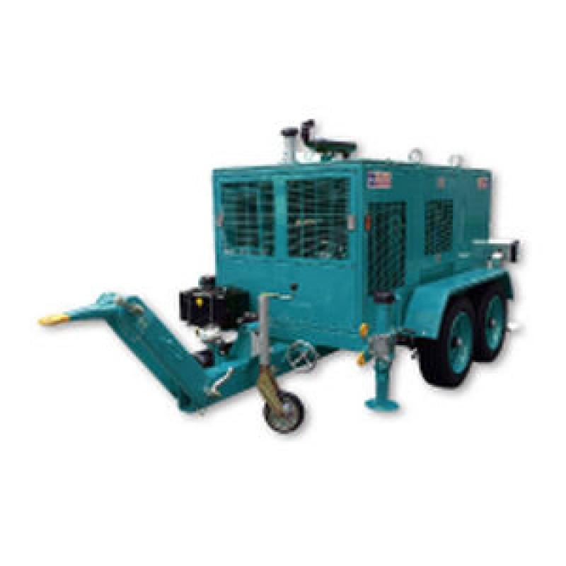 Гідравлічна лебідка з тепловим двигуном для санації шлангів VM 20000 RIS