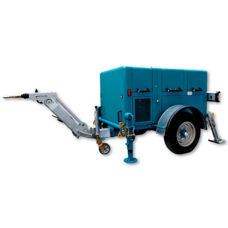 Гідравлічна лебідка з тепловим двигуном для санації шлангів VM 4000 RIS